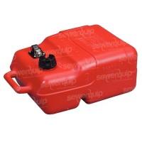 Fuel tank, 20L red plastic