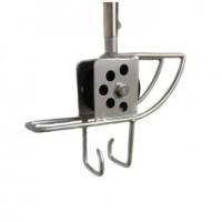 Hose guide, roller/grabber, Puma tool pole mount