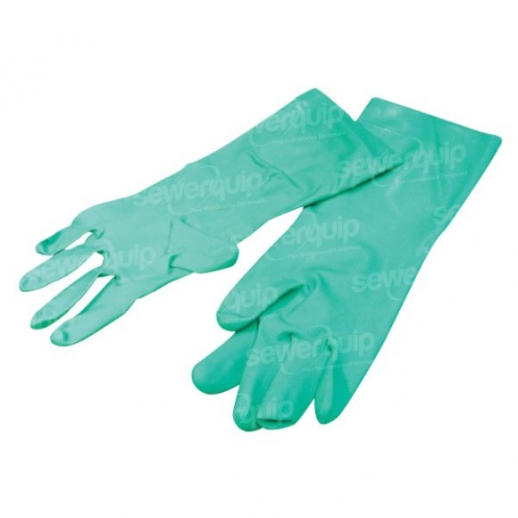 Drain Cleaning Nitrile Chemical Gloves