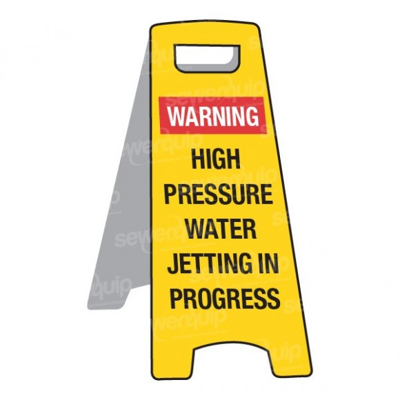 Jetting Safety Sign Small